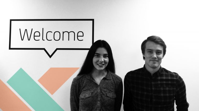 Two new faces join the team!