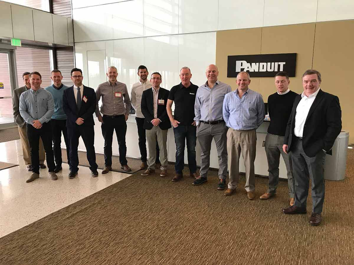 Twisted Visit Panduit HQ, Chicago