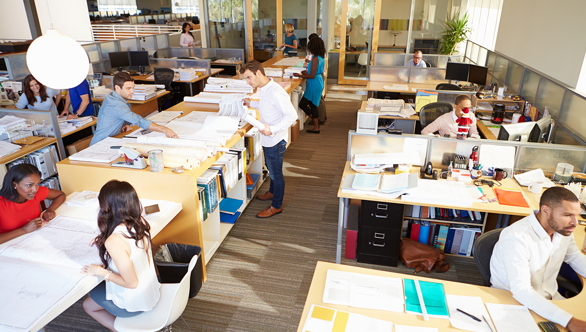 Overcoming pitfalls of the open plan office